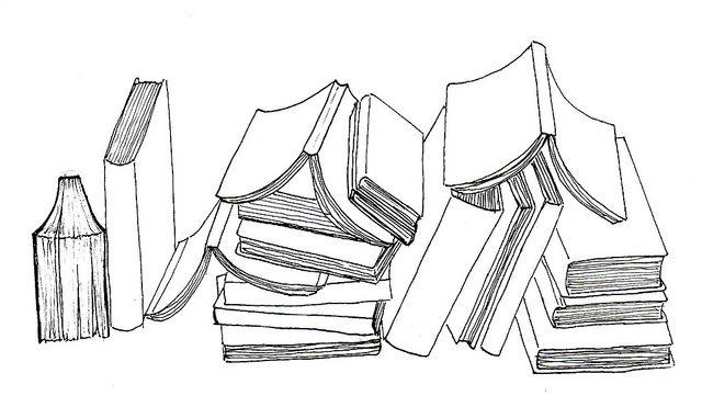 Pin By Lori Harris On Books Book Drawing Books Book Tattoo