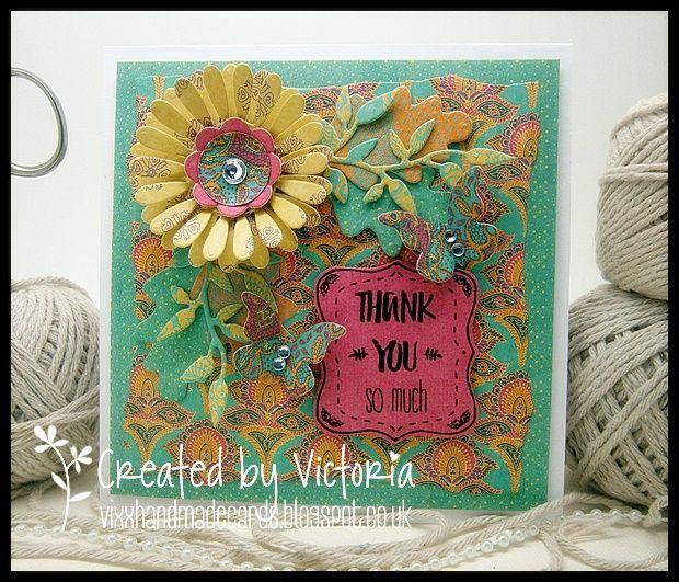 vixx handmade cards trimcraft  cards handmade color