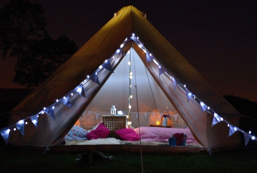 A lovely gl&ing tent for a bridal shower & Glamping | Glamping tents Tents and Camping