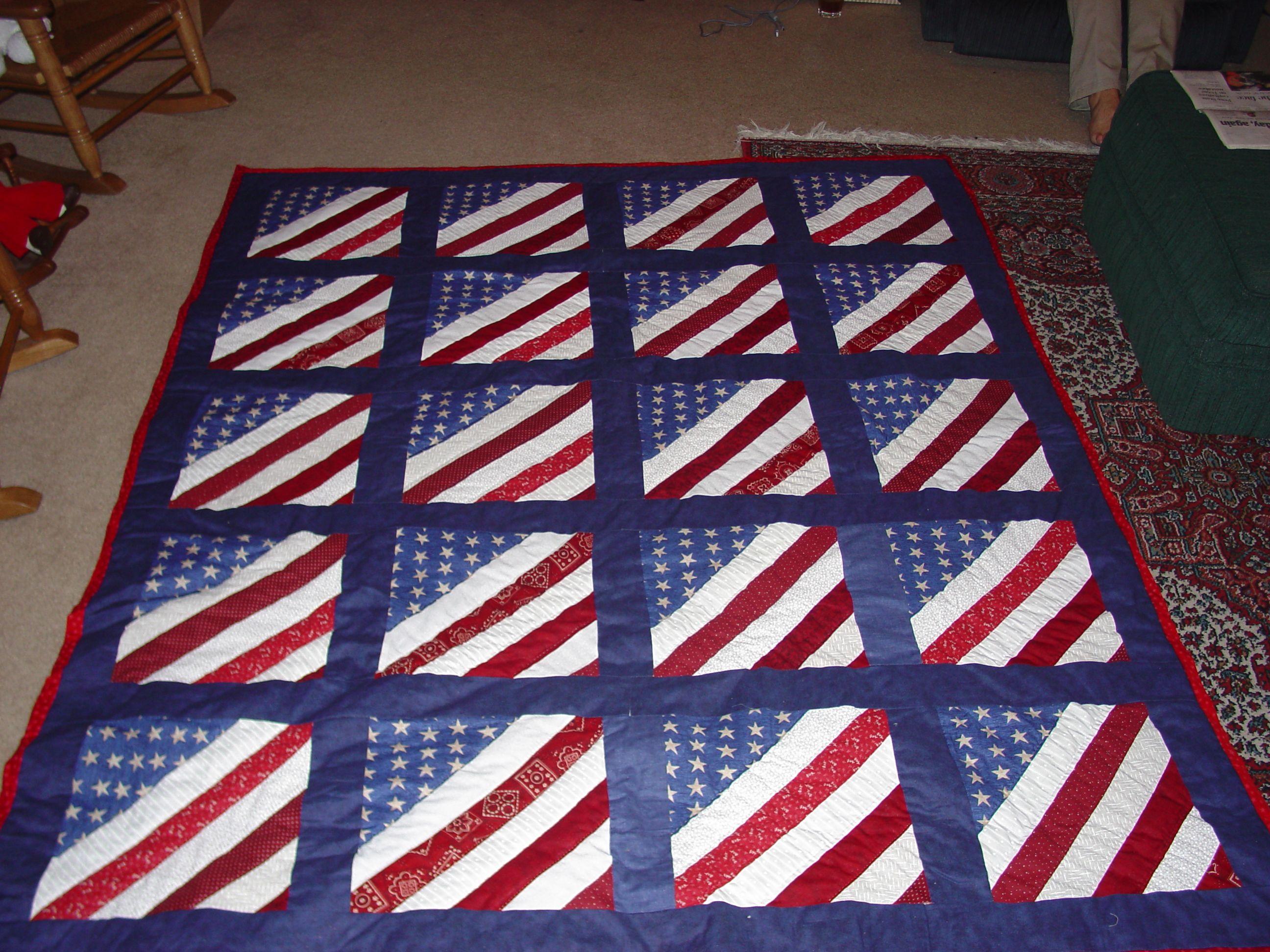 Patriotic Quilt Quilt Ideas Pinte
