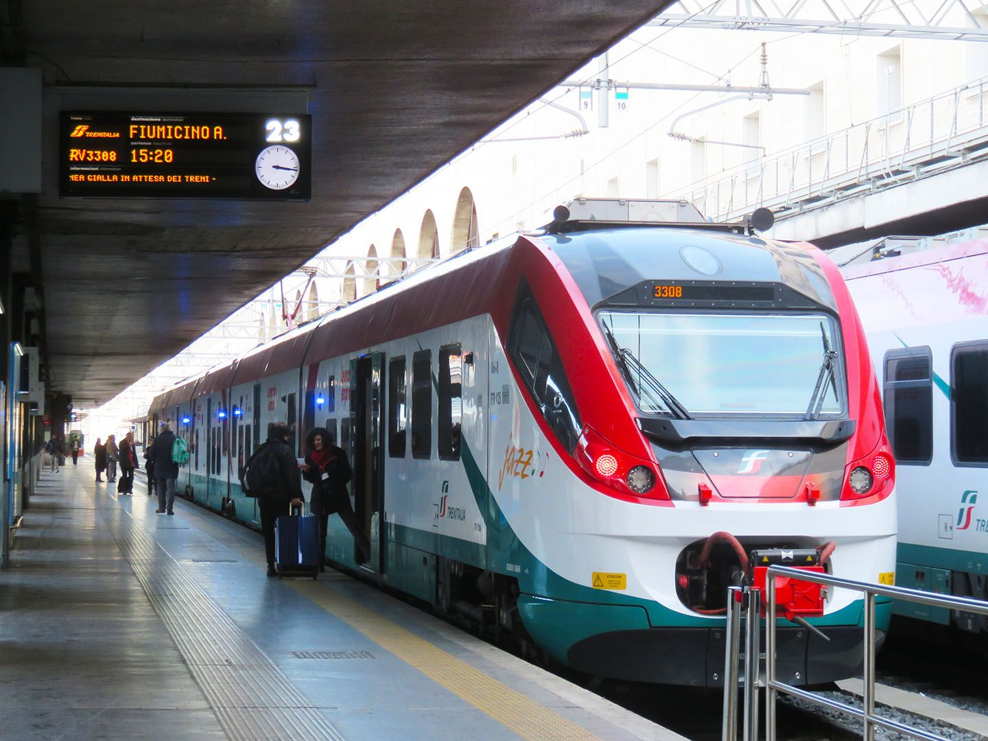 How To Get From Rome Airport To Termini Train Station