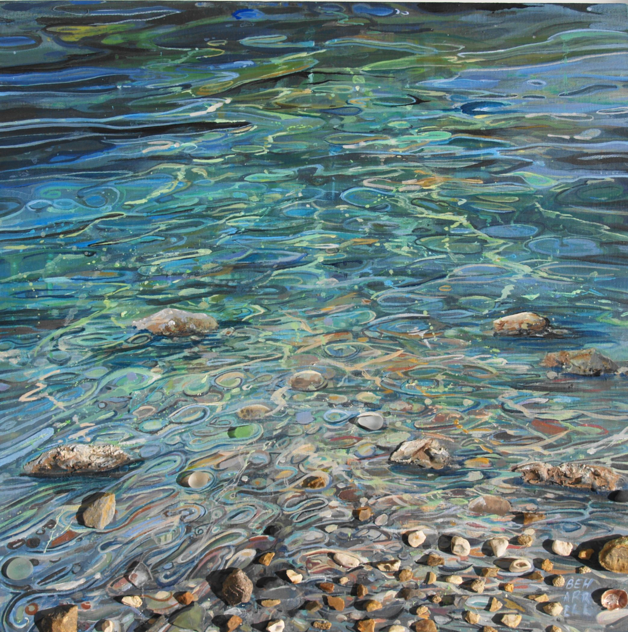 Ripples in the water - Cornish Art Gallery / Sophi ...