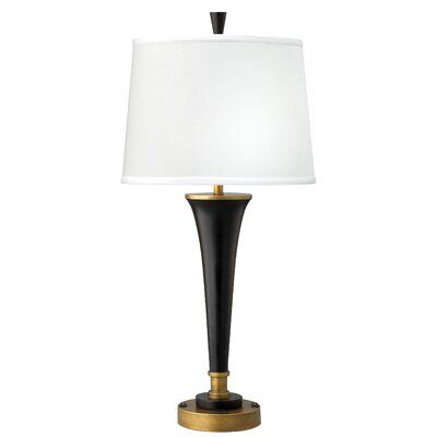 Medallion Lighting Twin Light Double Nightstand Lamp Shade Color