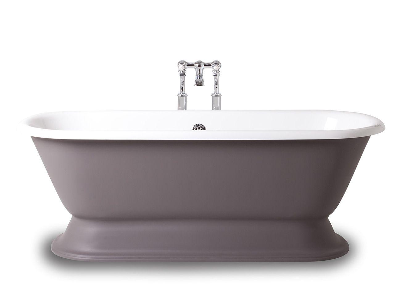Geminus advance vrijstaand bad op voet eenvoudige perfectie