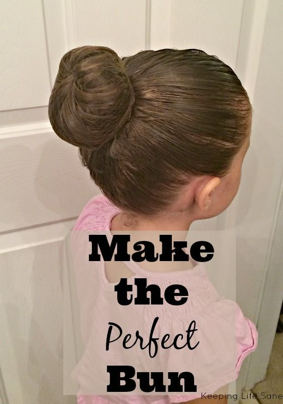 Do you struggle to make a bun? Read this and you won't
