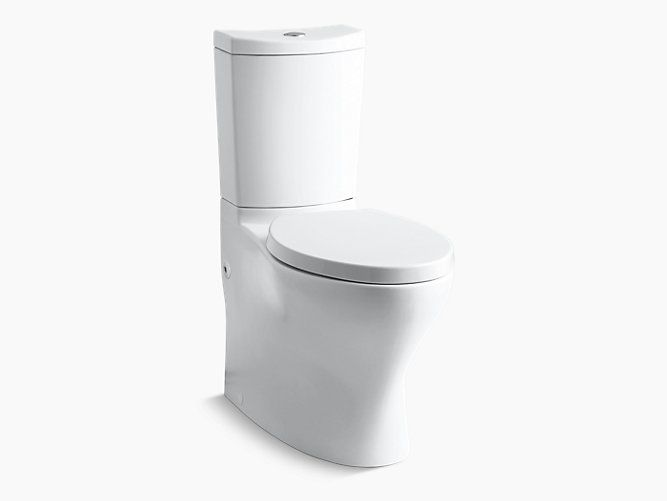 Kohler 3723m Elongated Toilet Persuade Curv Comfort Height With Double Discharge Dual Flush Toilet Toilet Flush