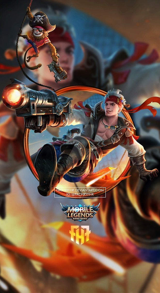 Wallpaper Phone Claude Plunderous Pirate By Fachrifhr Kimmy