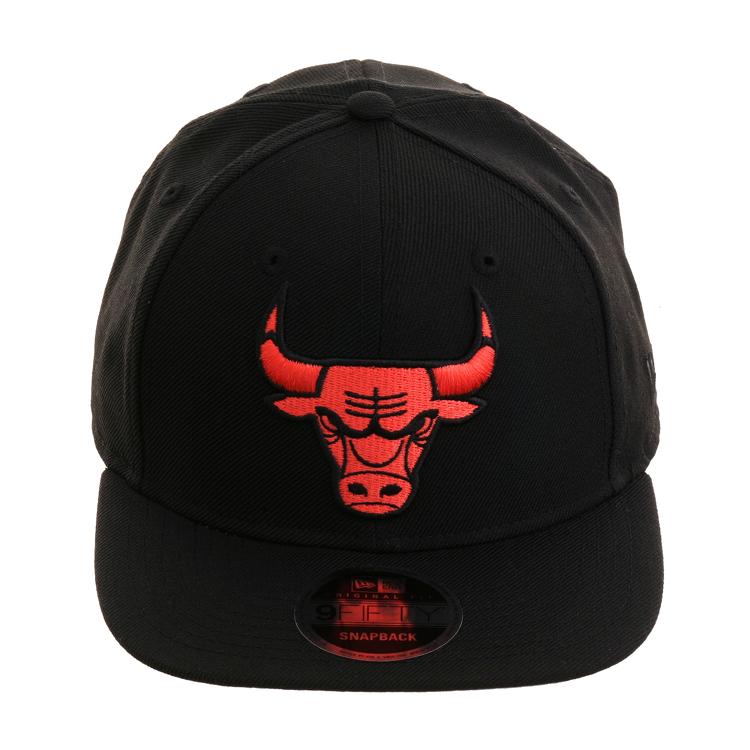 Exclusive New Era 9Fifty Chicago Bulls Snapback Hat - Black ... a4f5baaf09eb