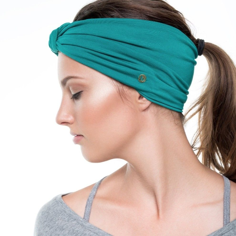 This stylish headband ($15) to make it look like your hair situation is on lock down.