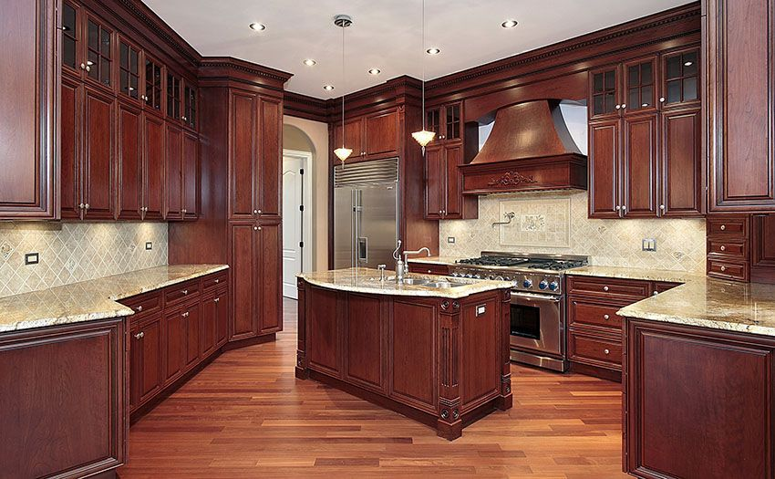 Superior 29 Custom Solid Wood Kitchen Cabinets