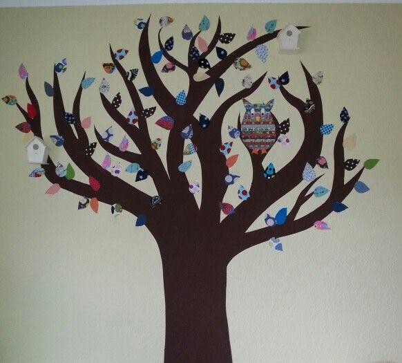 Unser fertiger Stoffbaum