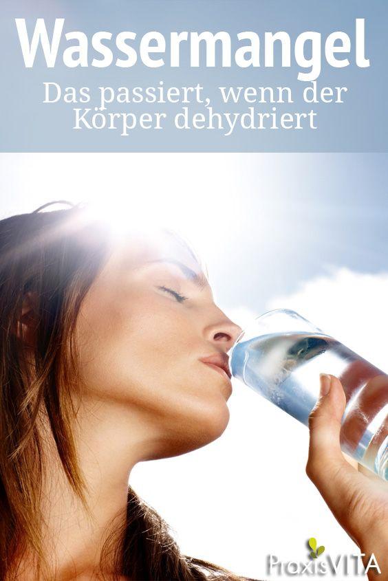 Wassermangel: Das passiert, wenn der Körper zur Wüste wird ...