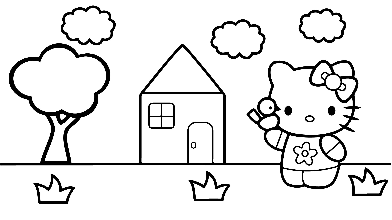 Hello Kitty Boyama Sayfasi Cocuklar Icin Egitici Boyama Videolari Boyama Oyunlari 2020 Boyama Sayfalari Mandala Hello Kitty Boyama Kitaplari
