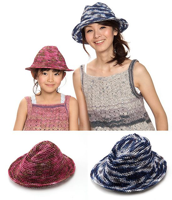 Amian Fedora Pattern By Pierrot Gosyo Co Ltd Crochet Fashion