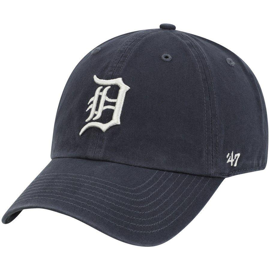 newest 38f6b 57c9d Men s Detroit Tigers  47 Gray Vintage Clean Up Adjustable Hat,  24.99