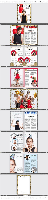 Crea gratis tu periódico de cumpleaños online e imprímelo a buen ...