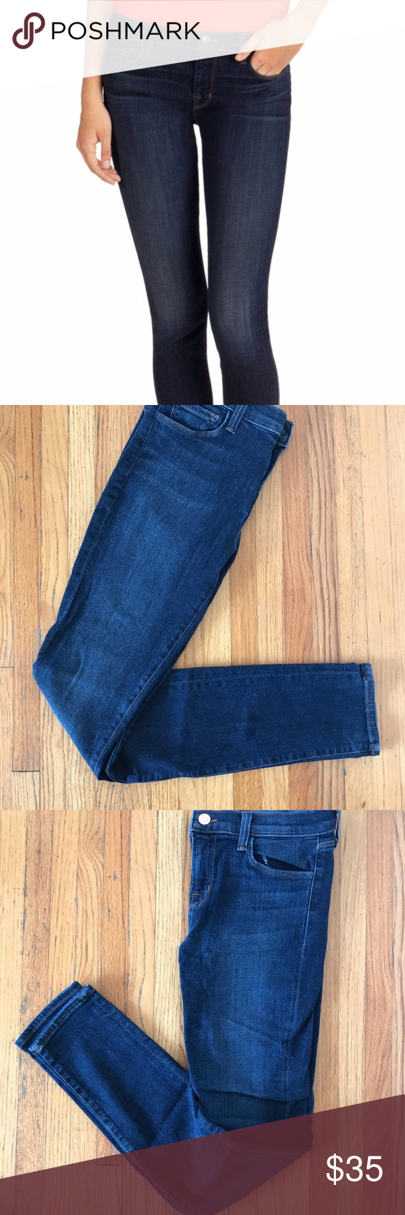 b61365a6037f J Brand 811 MID-RISE SKINNY Only worn once and in absolutely brand new  condition