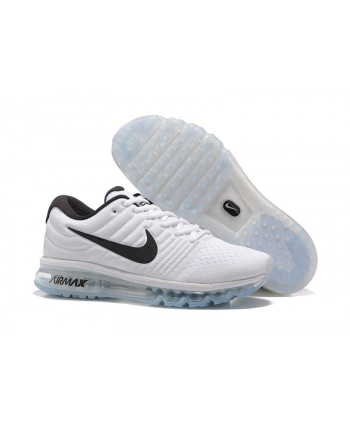 b7bdfe4957e Homme Nike Air Max 2017 Blanc Chaussures 2017 derniers modèles