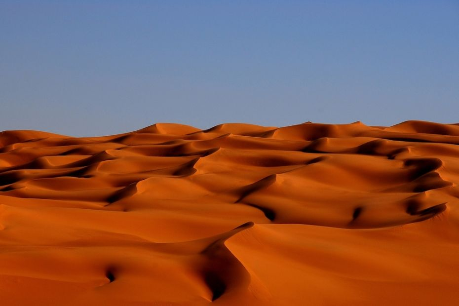 The Most Alien Landscapes On Earth Amazing Nature Wanderlust - A hot desert