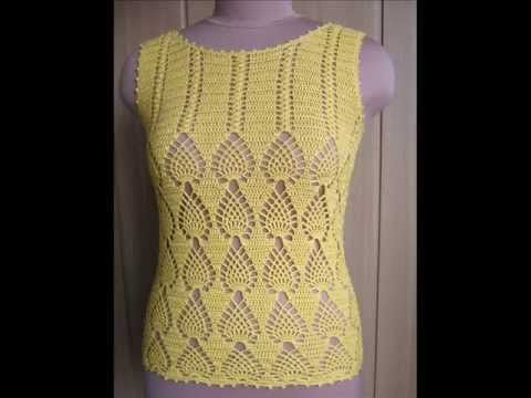 How To Crochet Tunic Top Free Pattern Youtube Video 2