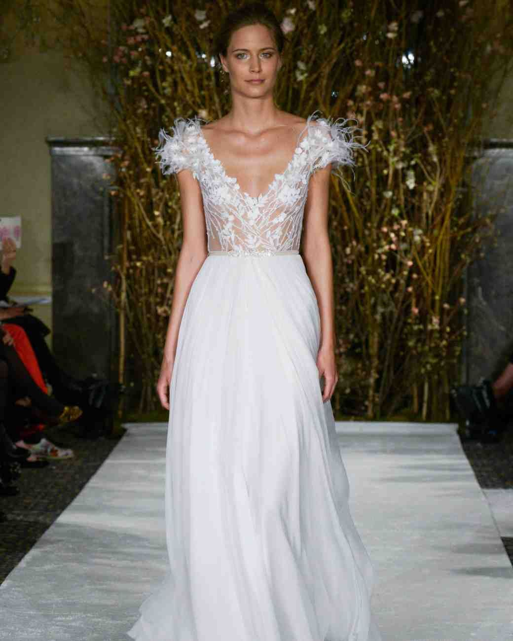 The best wedding dress trends from bridal fashion week just