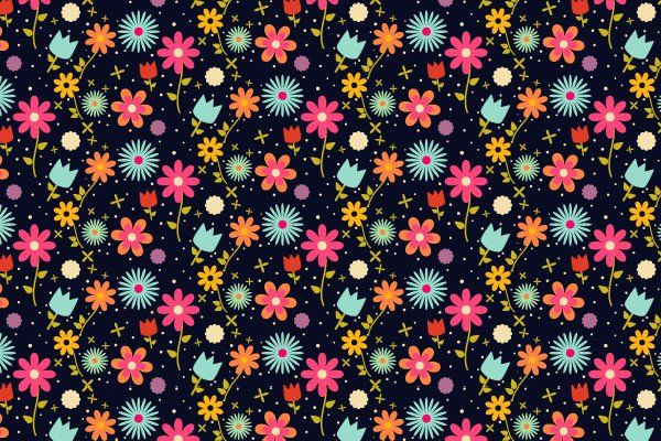 Flowers-Pattern-Design.jpg (600×400)