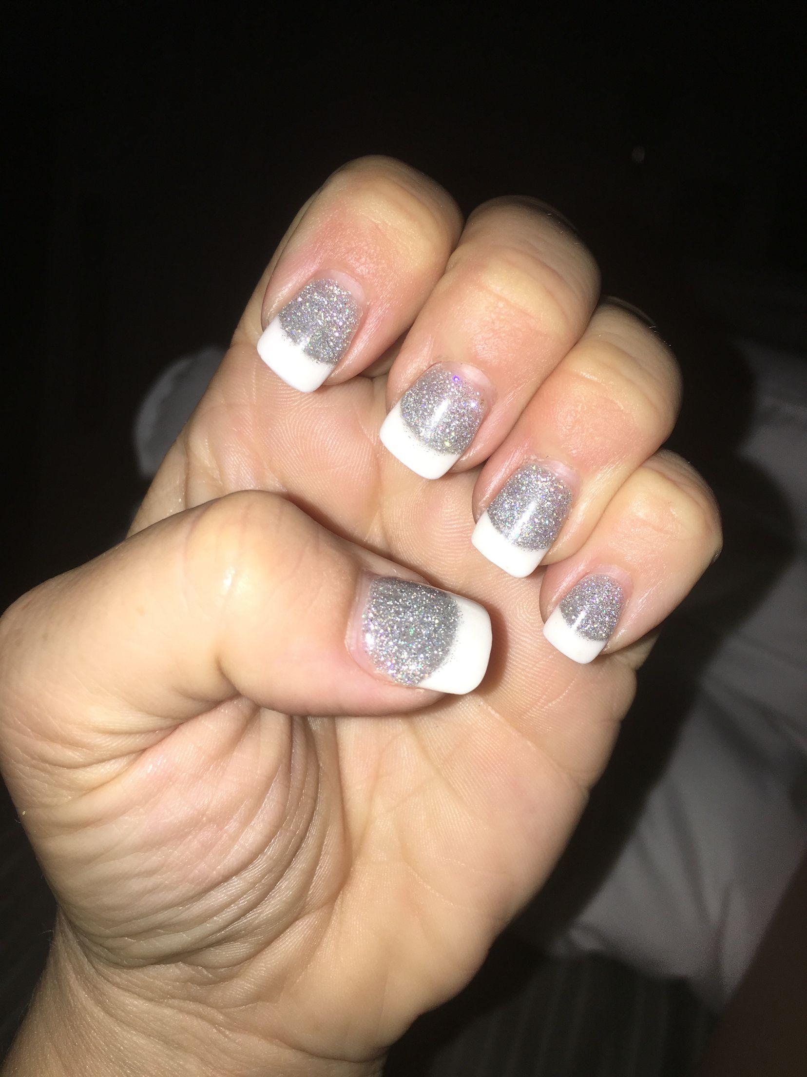 Glitter solar nails | My nails. | Pinterest | Glitter solar nails
