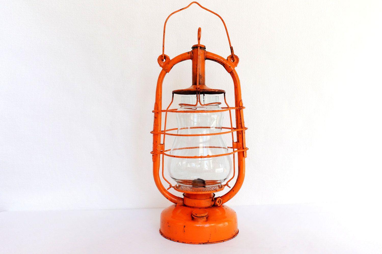 Antique Kerosene L& Barn L& Orange Lantern Outdoor Lighting Kerosene Lantern Farmhouse Decor by Retronom on  sc 1 st  Pinterest & Antique Kerosene Lamp Barn Lamp Orange Lantern Outdoor Lighting ...
