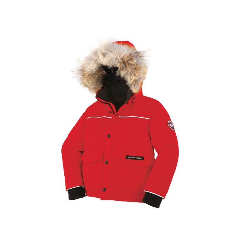 7b8c7361c4ab Kids Canada Goose Christmas Red Lynx Parka