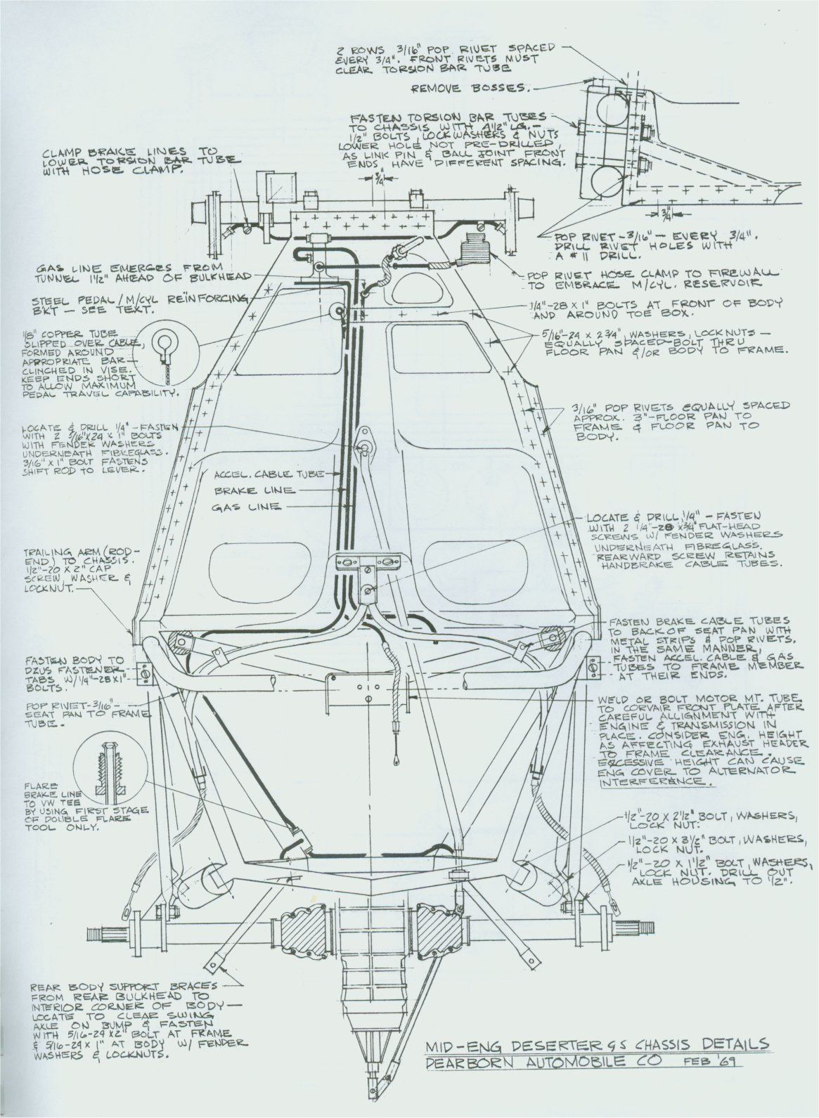 550 Spyder Replika Zeichnungen