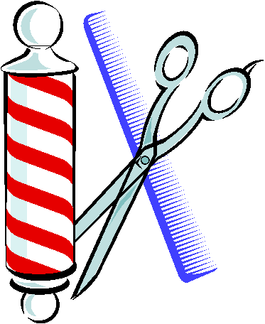 Clip Art Of Barber Shop Items 96834 Clipartimage Com Clip Art Barber Shop Barber