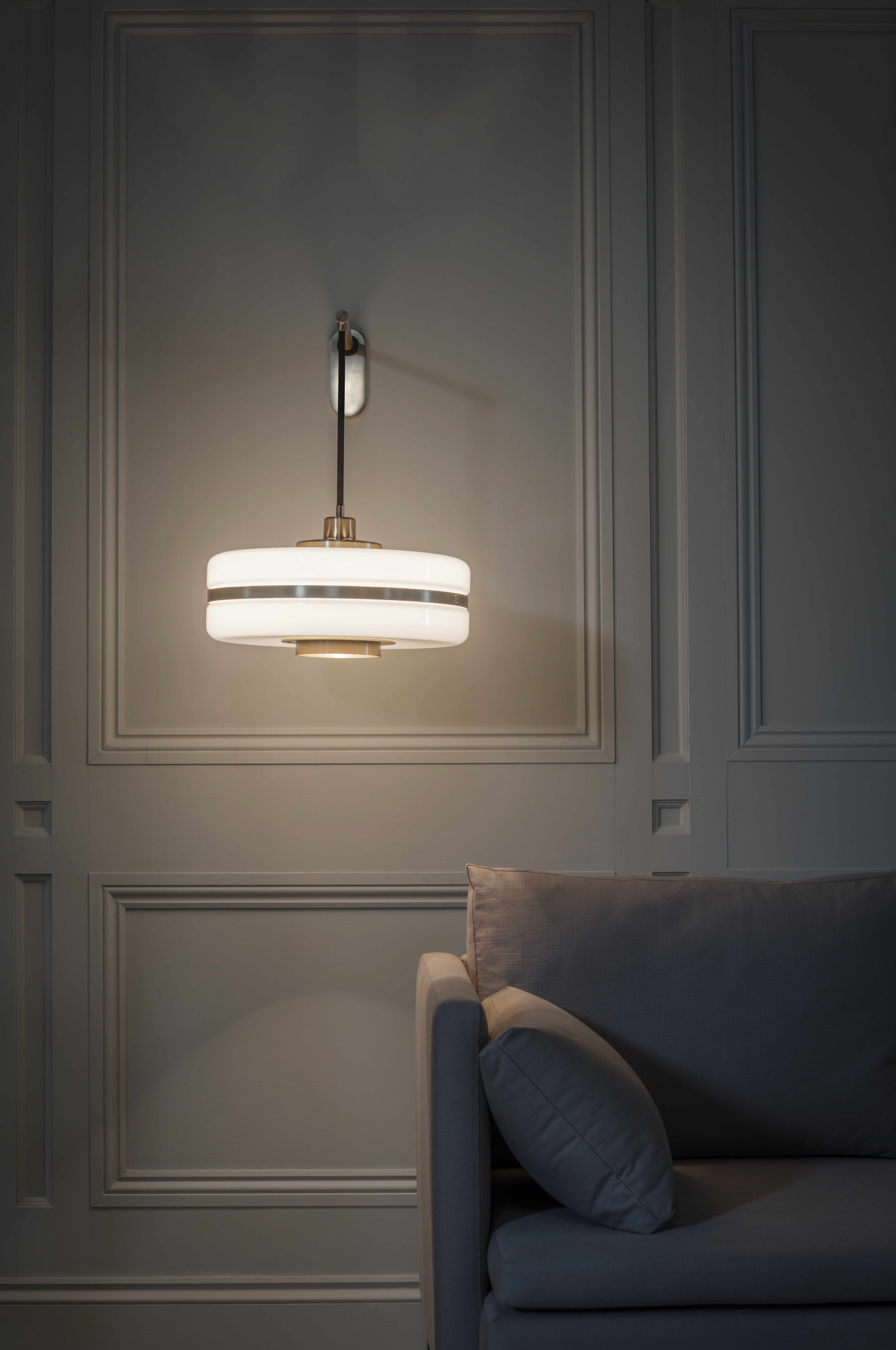 New For 2016 The Masina Wall Light With Opal Glass Shade And Brass Trim Www Bertfrank Co Uk Wall Lights Wall Lighting Design Lighting Design
