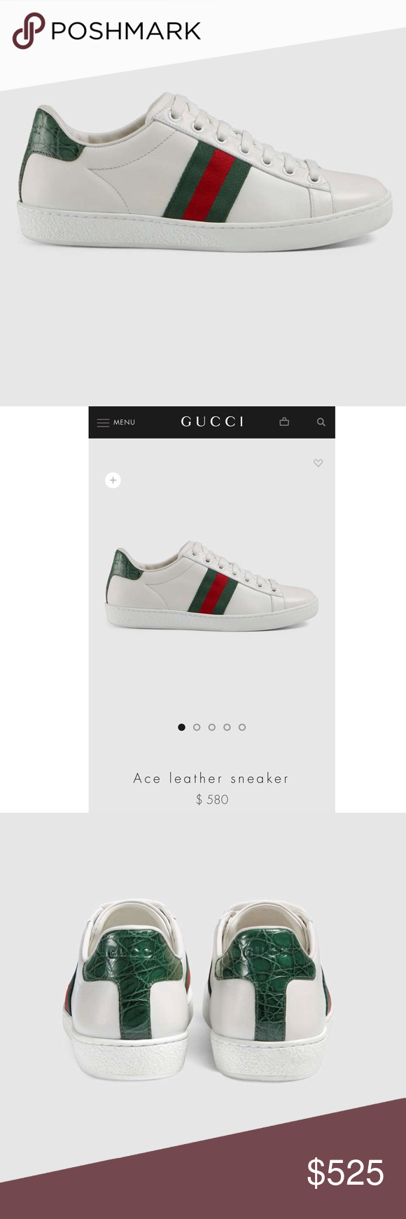 833bc760102 Gucci Ace Sneakers (women s) Authentic Gucci Ace Sneakers. Brand new. Box