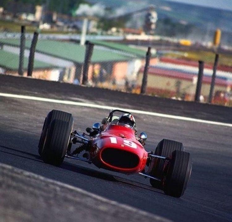 Cris Amon Ferrari 312 1968 Jarama | Ferrari f1, Carreras ...