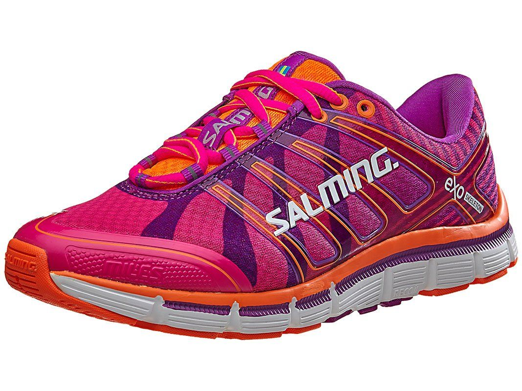 pretty nice f42c1 54a90 Salming Miles Women s Running Shoe - SS16 - 8.5 - Pink. 2 Layer upper  construction