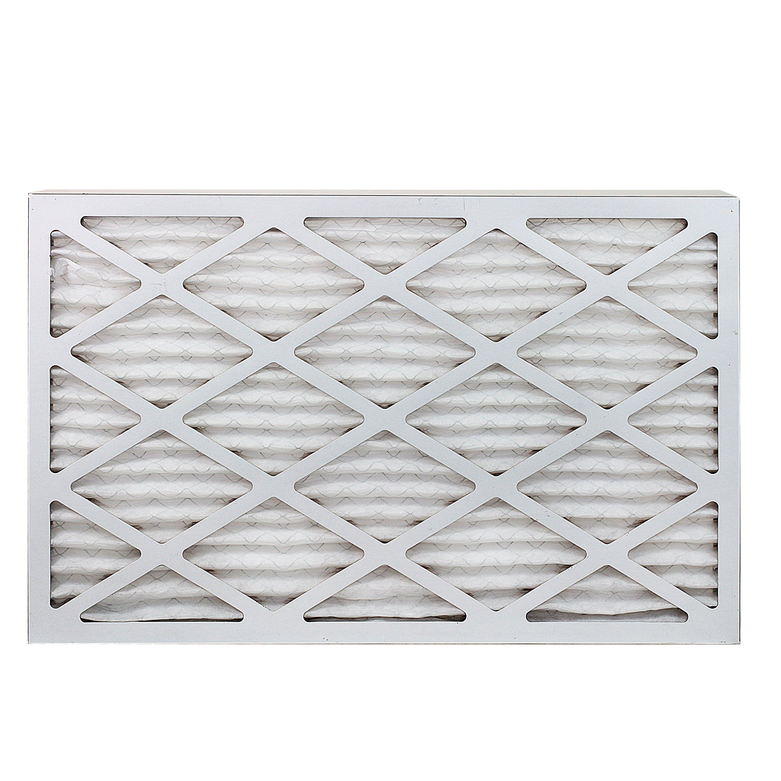 FilterBuy 15x25x1 MERV 8 Pleated AC Furnace Air Filter