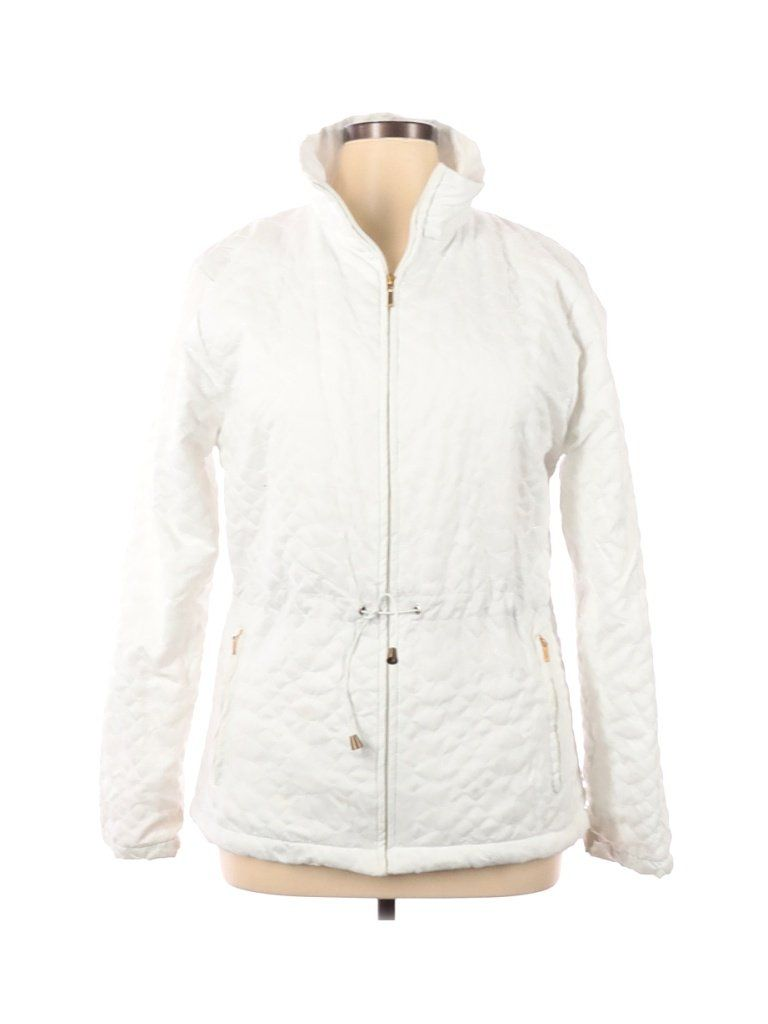 Level Jacket White Solid Jackets Outerwear Size 14 In 2021 Outerwear Jackets Outerwear Jackets [ 1024 x 768 Pixel ]