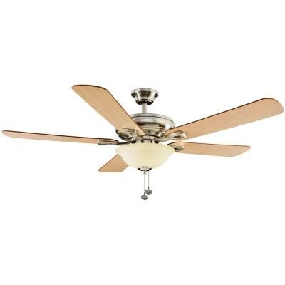 Rothley 52 in Brushed Nickel Ceiling Fan Replacement Parts
