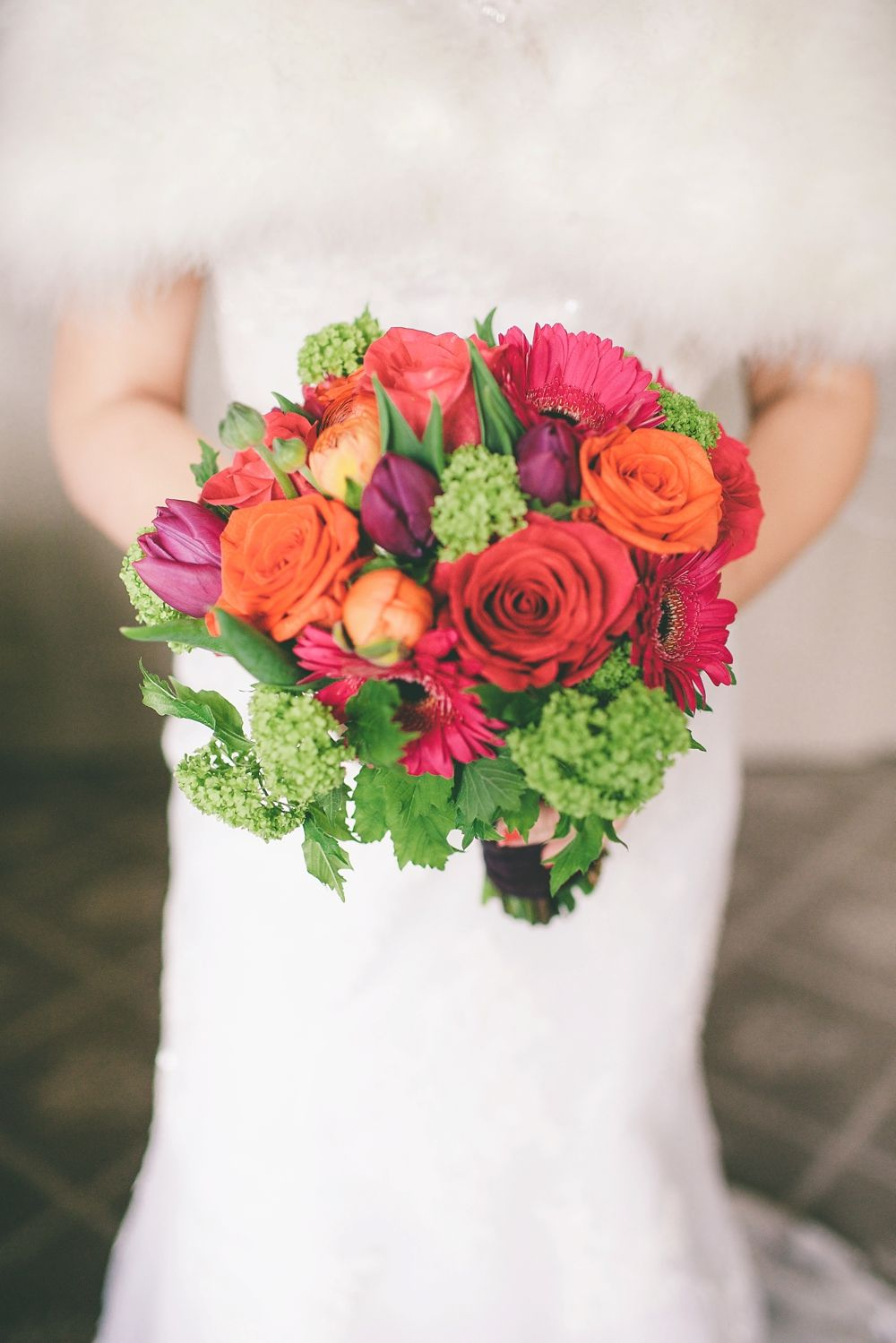 Ronald Joyce For A Vibrant Wedding At Bolton Abbey Colourful Bouquet Image By