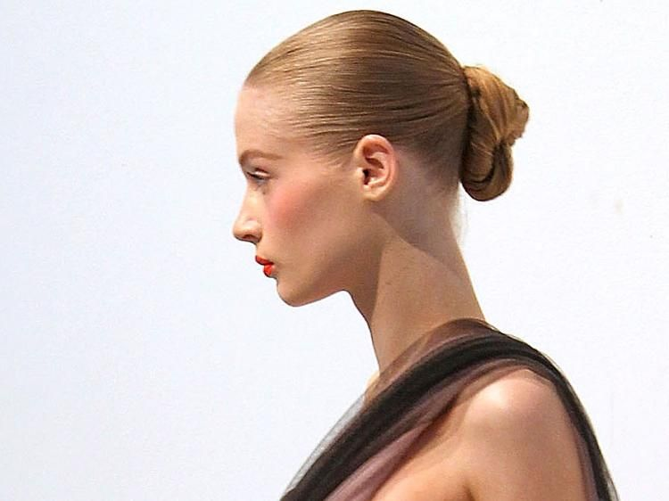 Pulled Back Hair Styles: When In Professional Attire... A Woman Hair Should Always