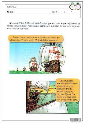 Sos Professor Atividades A Chegada Dos Portugueses Atividades