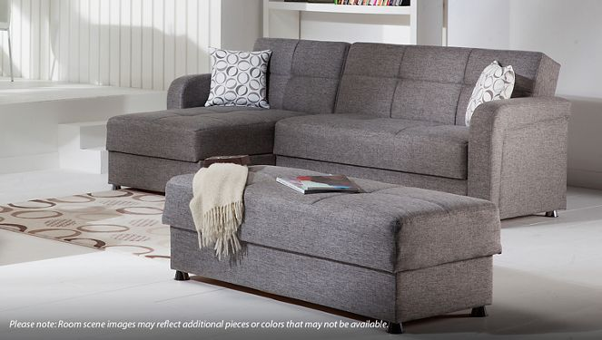Istikbal Vision Istikbal Vision 2 Piece Convertible Sectional With Storage And Chaise In 2020 Sectional Sofa With Chaise Grey Sectional Sofa Sectional Sofa