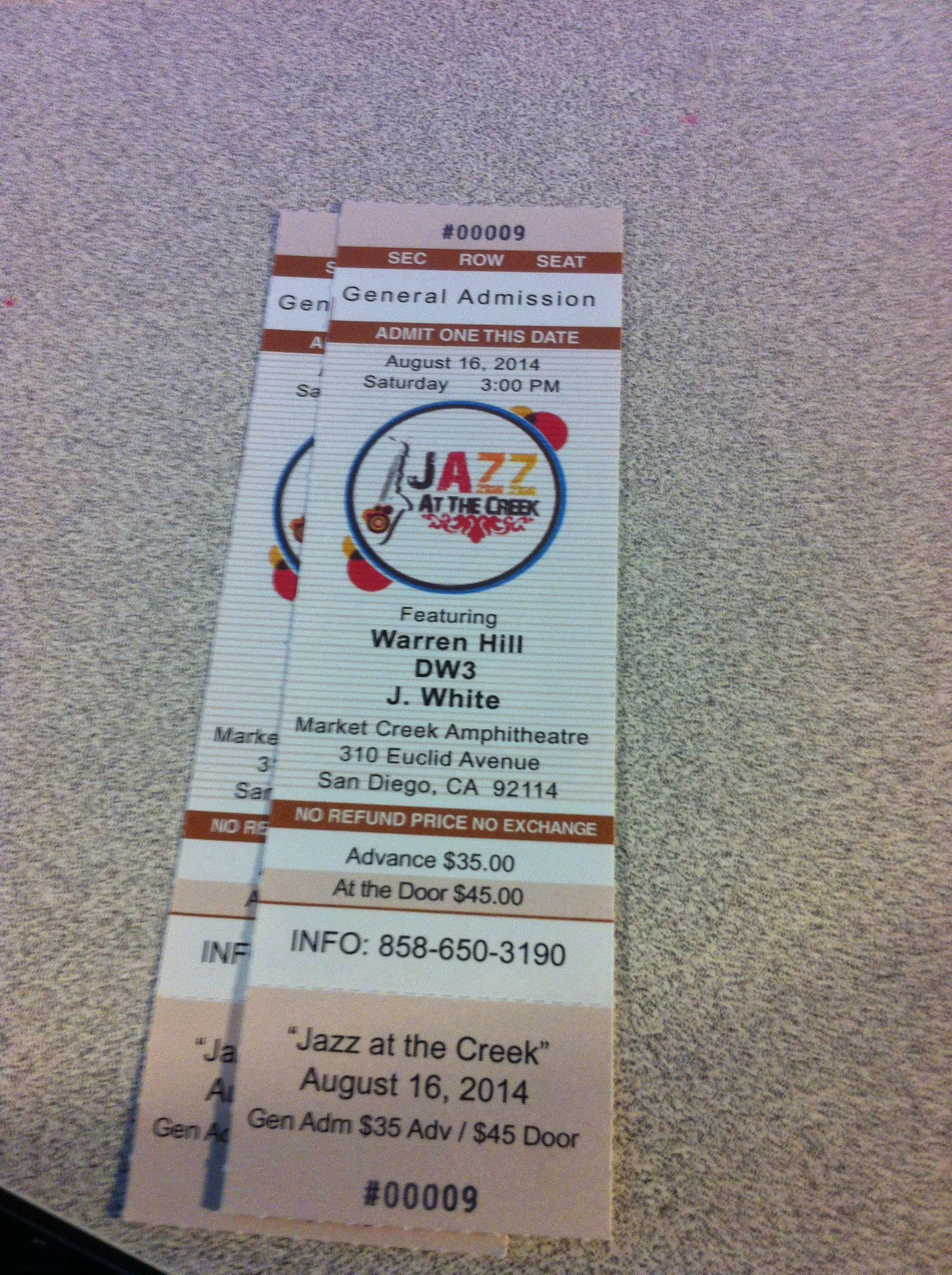 8-16-14  Jazz At The Creek