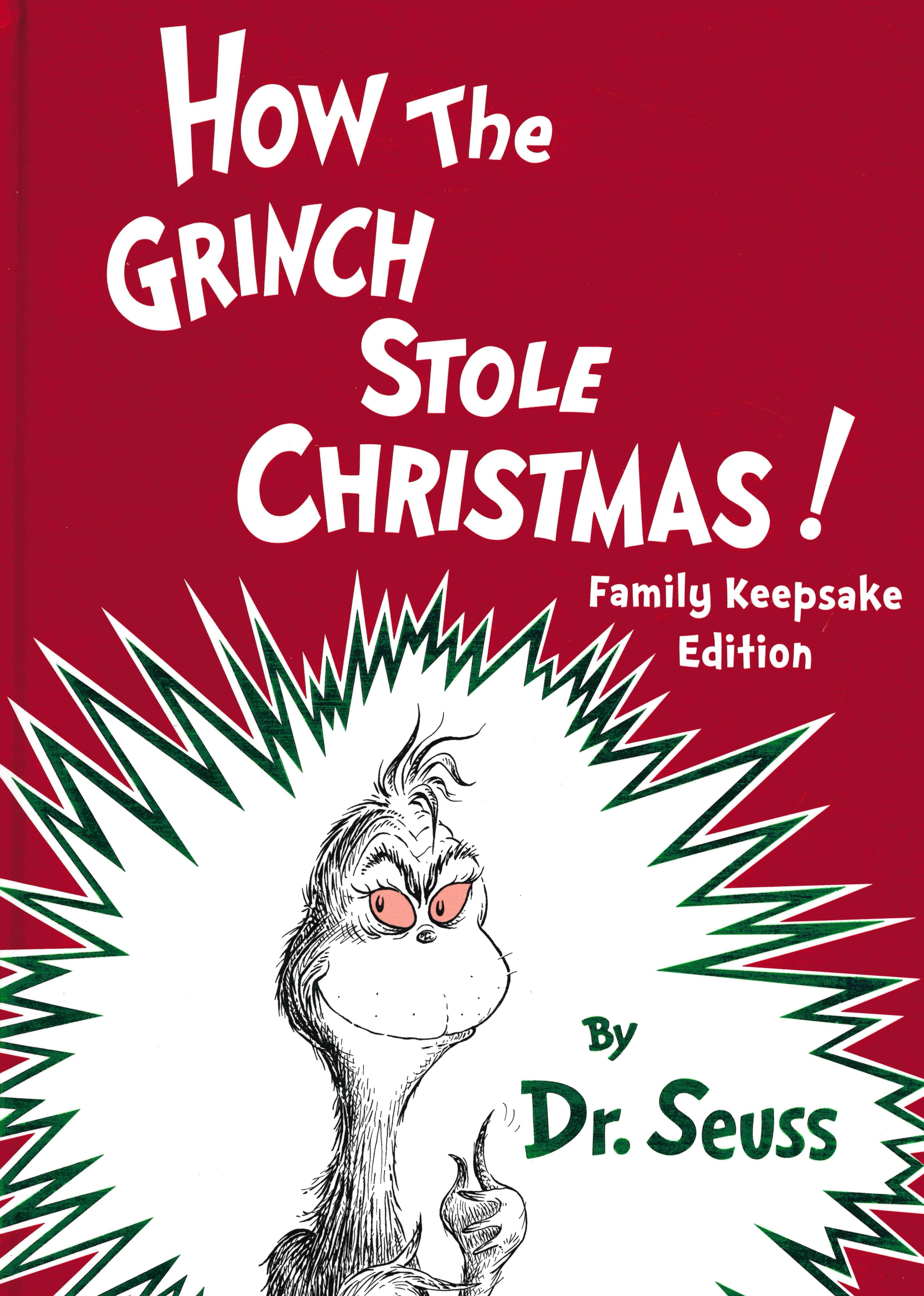 Illumination How The Grinch Stole Christmas 2020 HOW THE GRINCH STOLE CHRISTMAS! FAMILY KEEPSAKE EDITION (HARDCOVER