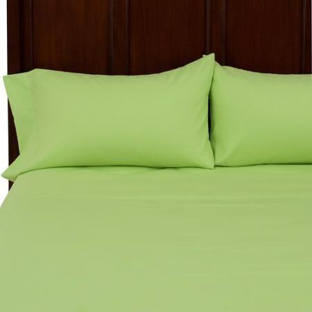 your zone soft microfiber sheet set - Walmart.com   Lime Apple ...