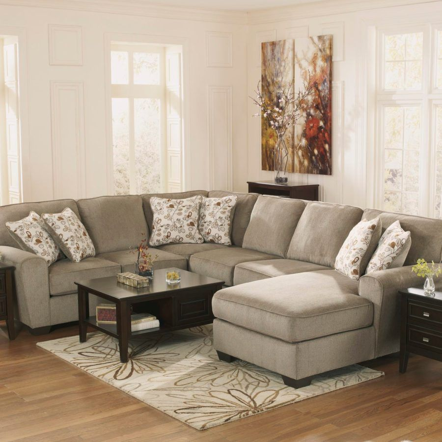 Cresson 4Piece Sectional with Chaise Furniture, Ashley