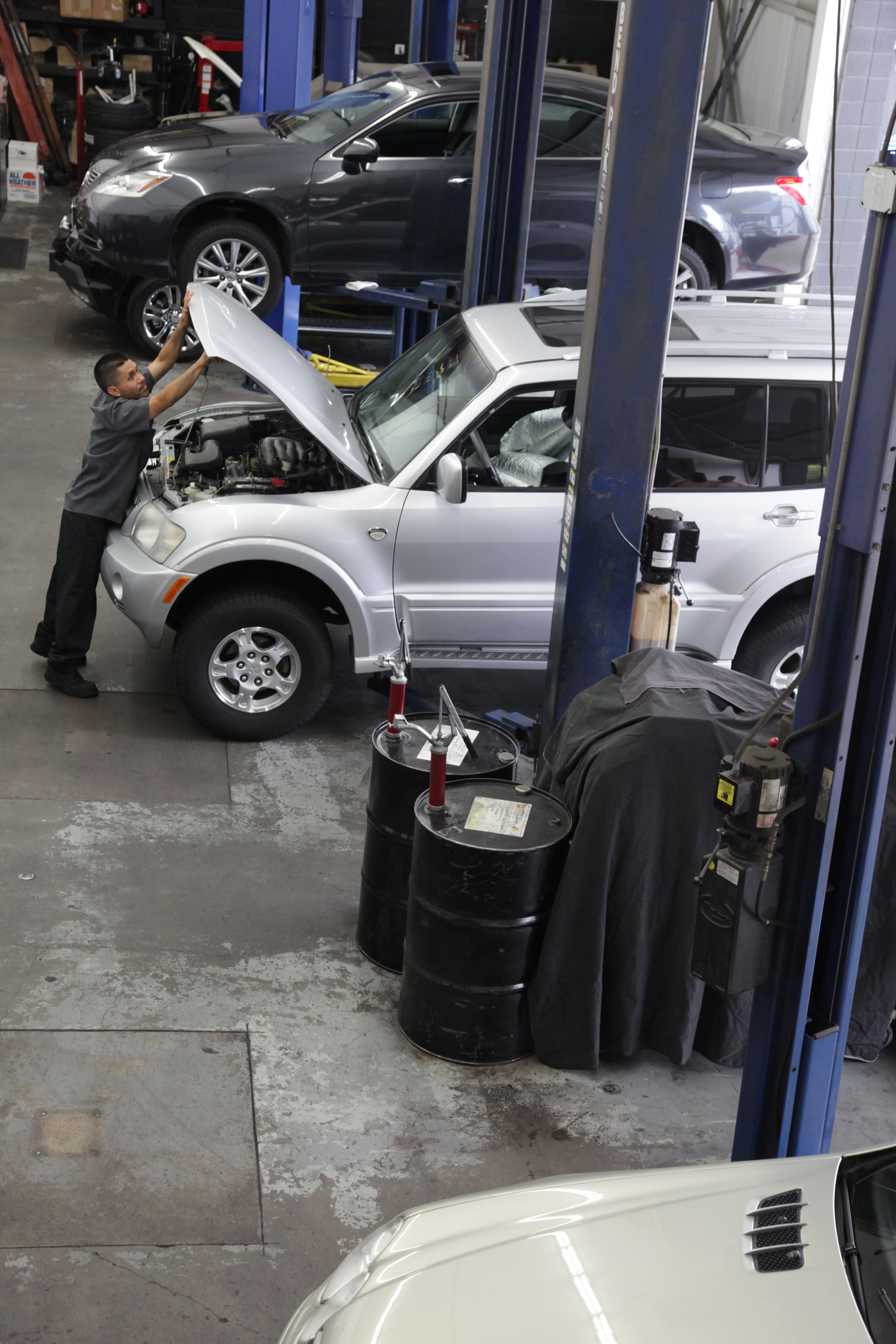 Routine service is essential for quality performance and