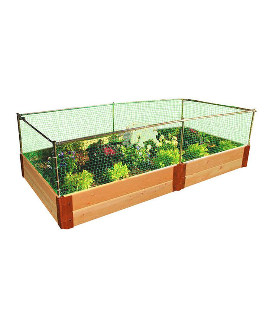 Look At This 4 X 8 Two Level Raised Garden Bed Frame Animal
