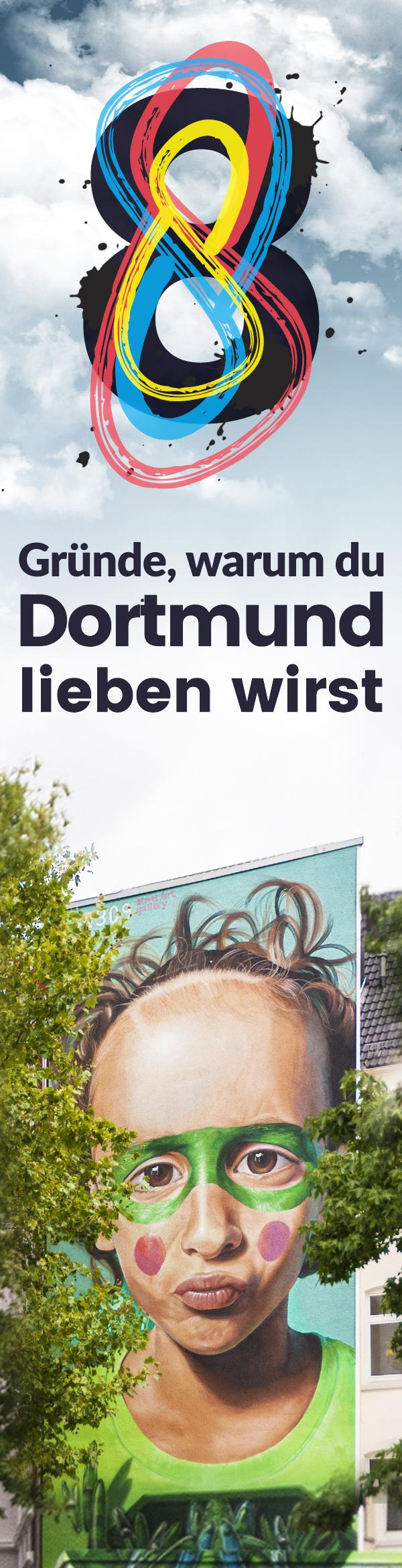 Dortmund ist nicht mehr nur Bier, Fußball und Kohle! Dennoch ein weitläufiger Irrglaube der sich (noch) hartnäckig hält. Wir zeigen Dir was diese Stadt herzlich, liebenswert und wirklich schön macht.
