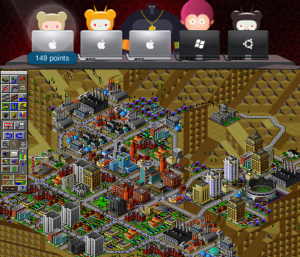 Take turns controlling your city with King For A Day, the